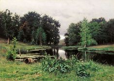 Efim Efimovich Volkov Paintings-In the Forest, Autumn. 1887