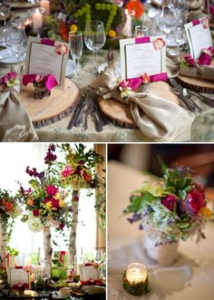 this is for a wedding but could be be used for a dinner party!!
