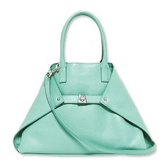 4f03a4b776 Ocean foam colored messenger bag Cute Handbags