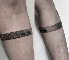 32 Tattoos that will make you want to get arm band tattoo
