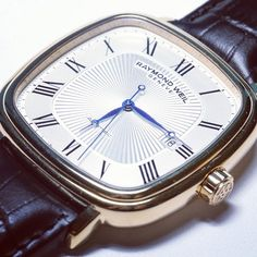 Raymond Weil Maestro Cushion Watch Hands-On Swiss Luxury Watches, Modern Watches, Vintage Watches, Cool Watches, Watches For Men, Most Popular Watches, Watch Blog, Raymond Weil, Limited Edition Watches