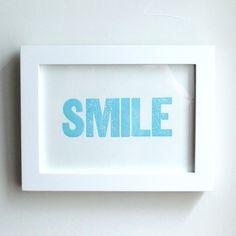 SMILE Letterpress | Heartfish Press