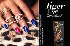"""<p>Tiger Eye by Crystal Nails: lo smalto semipermanente effetto occhio di tigre! Stanche degli smalti semipermanenti piatti e senza alcun effetto? Allora lasciatevi stupire da Tiger Eye: il nuovo nato nella gamma CristaLac commercializzata da Crystal Nails! Questa novità mondiale permette di creare un esclusivo effetto """"occhio di tigre"""" sull'unghia …</p>"""