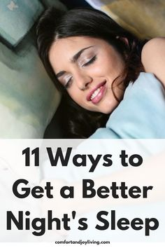 11 Ways to Get a Better Night's Sleep Care Skin Condition and Treatment Oil Makeup Health And Beauty, Health And Wellness, Women's Health, Mental Health, Fitness Models, Ways To Sleep, Sleep Remedies, Natural Sleep, Stress Management