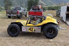 OffRoad VW Buggy in Mexican 1000 Vintage Rally Provided by TruckTrend Vw Beach, Beach Buggy, Road Rally, Rally Car, Karting, Supercars, Rat Rods, Manx Dune Buggy, Combi Wv
