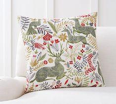 Llew Deer Print Pillow Cover #potterybarn