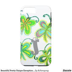 美しくかわいらしくユニークな例外のガーリーな蝶   #beautiful #amazing stuff gift products sold on Zazzle #Hakuna #Matata