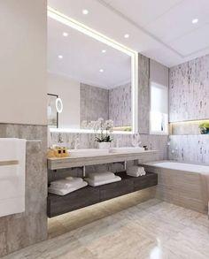 Excite Your Site visitors with These 14 Adorable Half-Bathroom Designs Bathroom Vanity Designs, Best Bathroom Vanities, Bathroom Design Luxury, Interior Design Living Room, Small Bathroom, Master Bathroom, Master Master, Zen Bathroom, Funny Bathroom