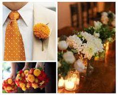 dahlia wedding flowers - a mix of color dahlias Fall Flowers, Wedding Flowers, Wedding Stuff, Wedding Ideas, Warm Autumn, Dahlias, Happily Ever After, Floral Tie, Dahlia