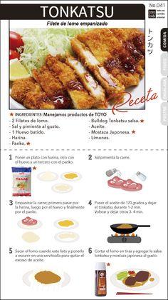 TONKATSU Easy Japanese Recipes, Asian Recipes, Toyo Foods, Katsu Recipes, Tonkatsu, Bento Recipes, Asian Cooking, Dessert For Dinner, Mets