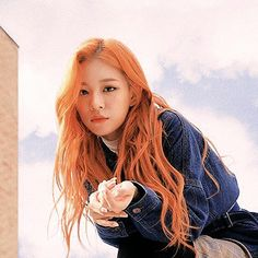 Chaeyoung | Fromis_9 Kpop Girl Groups, Korean Girl Groups, Kpop Girls, Seulgi, Loona Kim Lip, Kpop Hair, Wendy Red Velvet, Dye My Hair, Ulzzang Girl