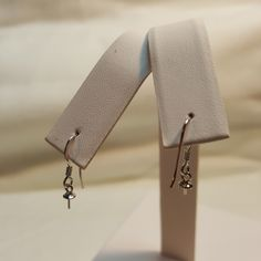 Fish Hook Earrings in Sterling Silver - FREE pearl mounting!