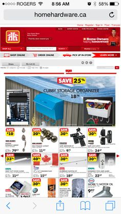 Available at Home Hardware!!