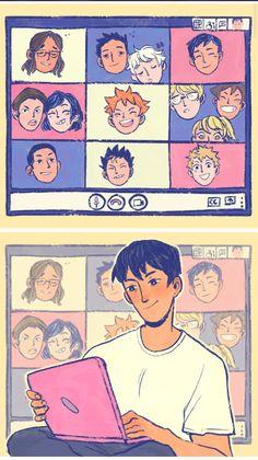 Haikyuu Funny, Haikyuu Manga, Haikyuu Fanart, Daisuga, Kagehina, Haikyuu Characters, Anime Characters, Akaashi Keiji, Volleyball Anime