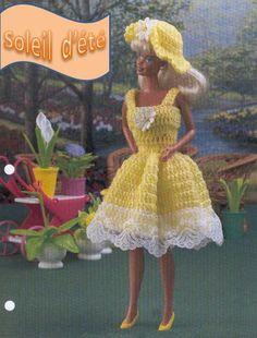 """Barbie en modèle """"Soleil d'été'"""