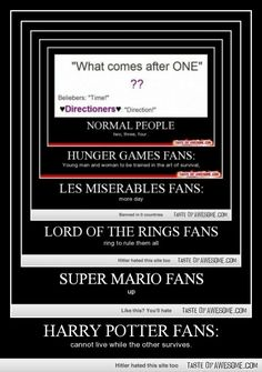 ALL THE FANDOMS