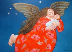Angels watching over you  - Ada Breedveld