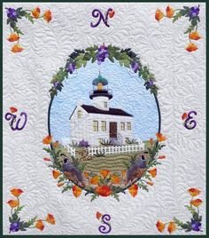 P3 Designs: Shop | Category: Patterns | Product: Old Point Loma Light