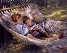 The Astronomy Lesson Steven Christopher Seward (reading in the hammock)