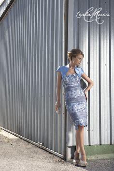 Vestido de Cocktail de Carla Ruiz 2012 - Modelo 86257