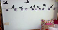 unos pájaros revoloteando por tu cuarto nunca van mal