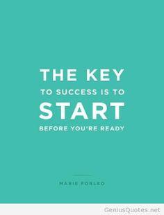 Success Quotes Key