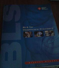 """""""BLS for Healthcare Providers. Student Manual Professional"""", American Heart Association (2015), spillato, pp. 58, in inglese, buono stato. EURO 10,00 + spese di spedizione libreriadeipicentini@gmail.com"""