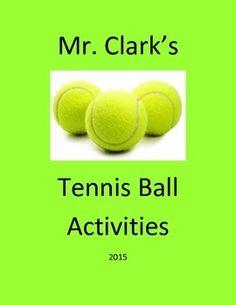 Physical Education Tennis Balls