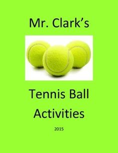 Physical Education Tennis Balls
