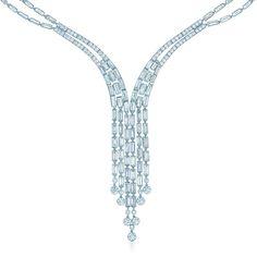 Collar de diamante Fringe