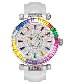 Diamond Jewel faced watch by Franck Muller