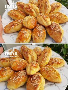 Kıyır Kıyır Pastane Poğaçası Turkish Breakfast, Best Breakfast, French Appetizers, Turkish Recipes, Pretzel Bites, Baby Food Recipes, Food To Make, Food And Drink, Yummy Food