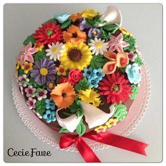 Bouquet multicolor