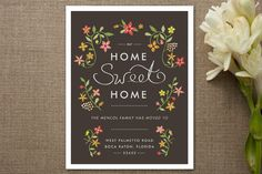 announce your move in style. home sweet home moving announcements by yolanda mariak chendak for minted
