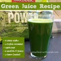 Green Juice Recipe – Life, Love and Thyme – Green Juice Recipe – get your daily greens in with this quick and easy juice recipe – Easy Juice Recipes, Green Juice Recipes, Juicer Recipes, Detox Recipes, Healthy Smoothies, Healthy Drinks, Smoothie Recipes, Healthy Eating, Green Smoothies