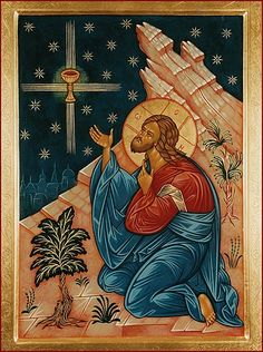 Father, if thou wilt, remove this chalice from me: but yet not my will, but thine be done.And being in an agony, he prayed the longer. Orthodox Catholic, Catholic Art, Religious Icons, Religious Art, Christ Pantocrator, Picture Icon, Russian Icons, Religious Paintings, Spirited Art