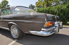 1965 Mercedes 220SE 4-Speed Sunroof Coupe | Bring a Trailer