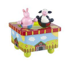 Orange Tree Toys - Farm Yard Music Box