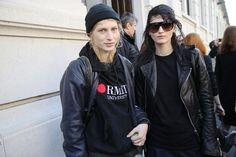 Street looks à la Fashion Week de Milan automne-hiver 2014-2015, Jour 5