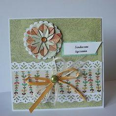 Origami Flower Card Tutorial