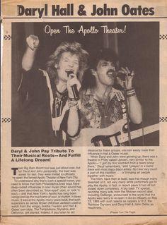 Daryl Hall & John Oates magazine article