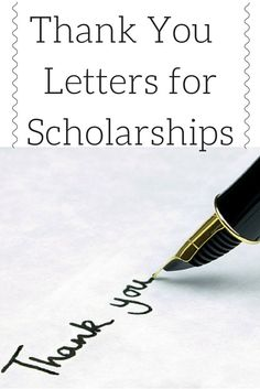 After receiving a scholarship, it is imperative to send a well written and thoughtful thank you note. This provides reinforcement to the funders that they have chosen the right candidate as the winner of their award. Furthermore, many scholarships are funded by individuals or organizations who are generously donating a significant amount of hard earned money.