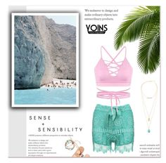"""""""Yoins"""" by janee-oss ❤ liked on Polyvore featuring Ancient Greek Sandals"""