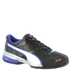 8f9576ecde1e PUMA Womens Tazon 6 Wns FM CrossTrainer Shoe Puma BlackPuma SilverRoyal  Blue 95 M US