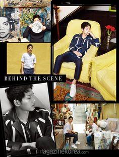 Song Joong Ki - Harper's Bazaar Magazine May Issue '16