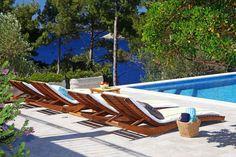 Holiday homes Korcula Island Croatia - Mediterano Tourist Agency Korcula Croatia, Tourist Agency, Outdoor Furniture, Outdoor Decor, Sun Lounger, Homes, Island, Holiday, Home Decor