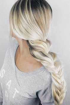 Instantly transform your hair with Ash Blonde clip-in Luxy Hair extensions and feel more confident with thicker, longer hair than you've ever had before! Ash Blonde is the lightest shade in our collec Fancy Hairstyles, Ponytail Hairstyles, Wedding Hairstyles, Ash Blonde, Blonde Balayage, Pop Hair, Luxy Hair Extensions, Thick Braid, Hair Setting