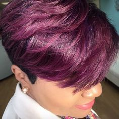Perfect plum pixie via @salonpk - http://community.blackhairinformation.com/hairstyle-gallery/short-haircuts/perfect-plum-pixie-via-salonpk/