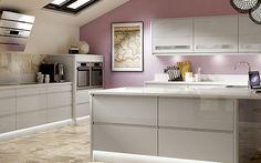 Modern gloss Benchmarx kitchen