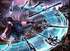 Final Fantasy XV - Noctis by Arlequinne.deviantart.com on @deviantART